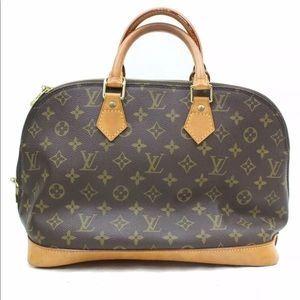 Authentic Louis Vuitton Alma Bag Purse
